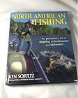 2001 Ken Schultz NORTH AMERICAN FISHING Hard Cover Illustrated Angling