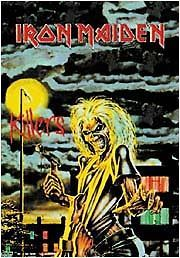 Iron Maiden Poster Flag Killers Tapestry Eddie New