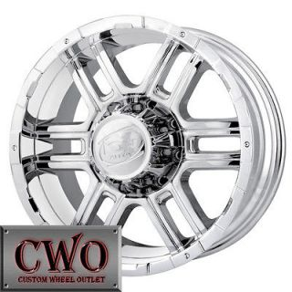 17 Chrome ION 179 Wheels Rims 6x127 6 Lug Trailblazer Envoy Bravada