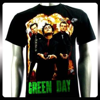 Green Day Billie Joe Alternative Rock Band T shirt Sz M Punk Men