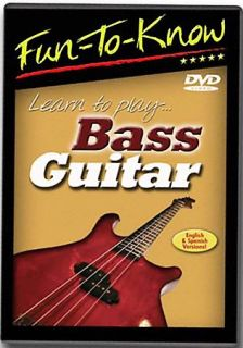 Fun To Know   Learn to PlayBass Guitar DVD, 2005