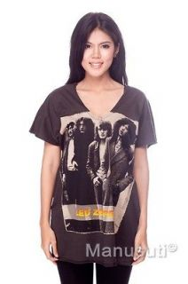 Led Zeppelin Jimmy Page HARD ROCK POP ART WOMEN Tank TOP T SHIRT Tunic