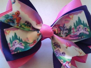 my little pony bows in Clothing,
