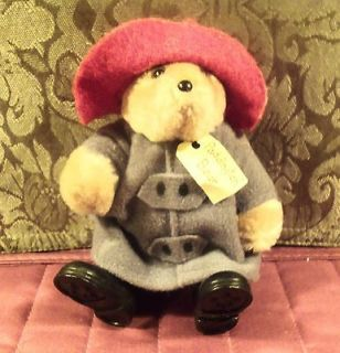 1996  Kids Gifts   Paddington Bear  Eden Toys 4 1/2 Inch Doll