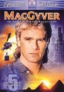 MacGyver   The Complete Fifth Season DVD, 2006, 6 Disc Set