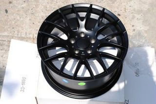18 BMW M3 GTS CSL Style Wheels Rims Matte Black 323i 325i 328i 330i