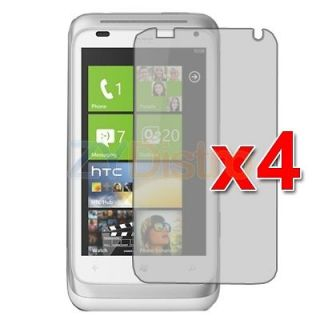 4X Anti Glare Matte LCD Screen Protector Cover Film for HTC Radar 4G