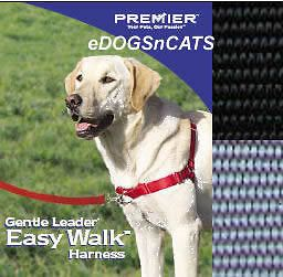 gentle leader easy walk harness dog black small medium one