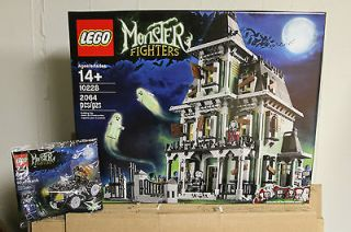 Lego Monster Fighters Haunted House 10228 Zombie Car 40026 New Sealed