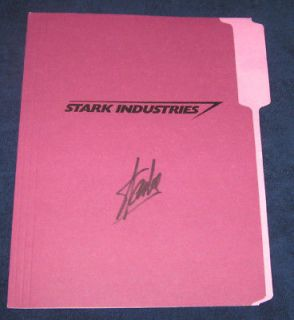 IRON MAN Original Movie Prop Signed by Stan Lee ~Colonel Rhodes