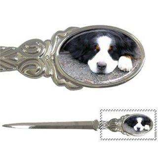 big puppy dog letter opener silver pewter alloy from hong