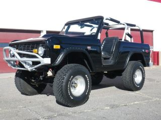 Sport Fuel Injected 351 Powered 1969 Ford Bronco 4X4 W/ 6 Inch Lif