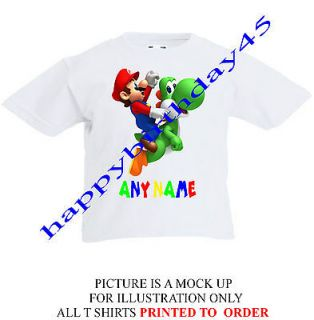 yoshi shirts kids in Clothing,
