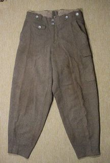 Original German army ww2 Gebirgsjaeger trousers mountain pants