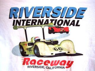 Riverside CA Mens M L XL 2X XXL 2XL Drag Racing T Shirt Drag Strip