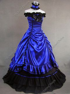 Southern Belle Civil War Lolitta Ball Gown Wedding Dress 135 L