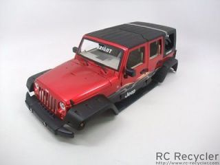 New Bright 1/10 Jeep Wrangler Unlimited Body Scale Rock Crawler Axial