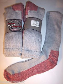 Pairs Mens Polar Xtreme 71% Merino Wool Cushioned Heavy Duty High