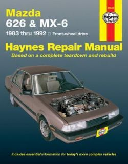 Mazda 626 and MX 6 Four Wheel Drive, 1983 1992 by John Haynes and