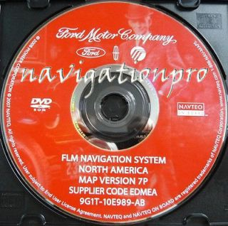 Ford Expedition Explorer Edge F Series Truck Mustang Navigation DVD