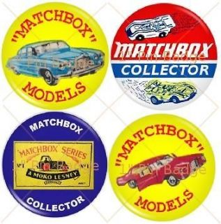 matchbox moko lesney collectors 1 badge set of 4 new location united