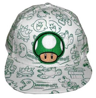 Official Nintendo  1 UP YOUTH HAT  Kid Child Toddler Boy Girl Baseball