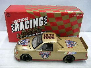 1998 nascar 50th anniversary ford race truck 1 24 returns