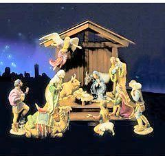 franklin mint the nativity by gianni benvenuti htf nib time