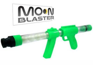 10) Glow in the Dark Moon Blaster Ping Pong Ball Gun Shooter Plastic