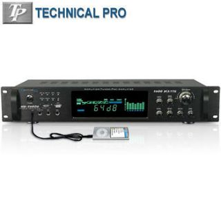 technical pro amplifier in Musical Instruments & Gear
