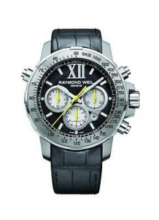 NEW RAYMOND WEIL NABUCCO AUTOMATIC CHRONOGRAPH WATCH TITANIUM 7800 TIR