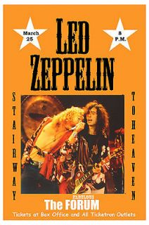 Robert Plant & Jimmy Page Led Zeppelin at The Forum Los Angeles