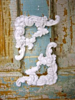 SHABBY & CHIC FURNITURE APPLIQUES * CORNERS * ONLAYS * RESIN & WOOD