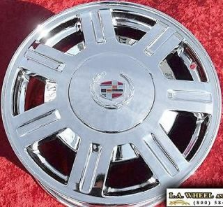 SET OF 4 NEW 16 CADILLAC DEVILLE SEVILLE CTS CHROME WHEELS RIMS