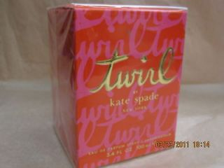 KATE SPADE TWIRL 3.4 FL oz/ 100 ML EDP Spray New In Box