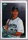 Mike Giancarlo Mike Stanton 2010 Topps Chrome Orange Refractor RC 190