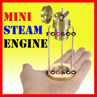 LIVE★ MINI STEAM ENGINE POWER BY LITTLE LAMP EDUCATIONAL TOY KIT