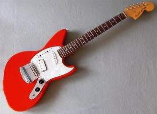 1997 Fender Jag Stang Fiesta Red Discontinued CIJ Kurt Cobain Model