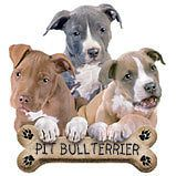 Pit Bull Terrier Pups Dog Sweatshirt Sizes/Colors