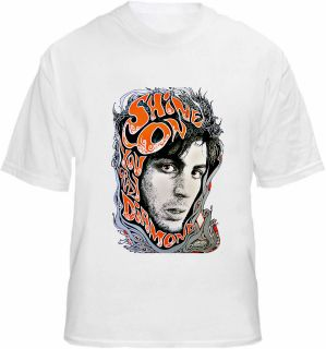 Syd Barrett T Shirt Pink Floyd   Shine On you Crazy Diamond Artwork