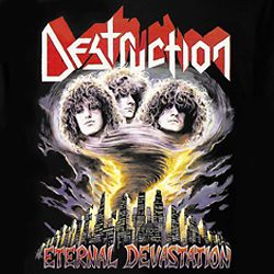 Destruction   Eternal Devastation T Shirt Heavy Metal Thrash New XXL