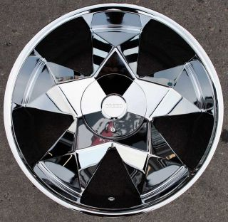 greed virtue 22 chrome rims wheels nissan titan truck time