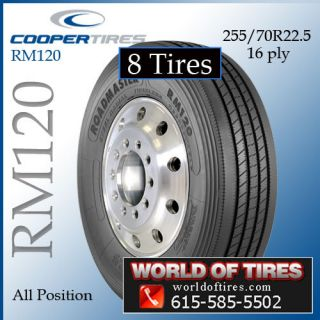 Tires Roadmaster RM120 255/70R225 semi truck tires 255 70 22.5 255