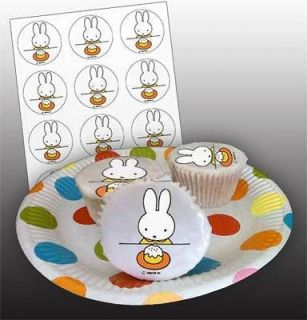 miffy edible icing cake toppers 12 set from united kingdom