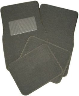 New Charcoal Grey Carpet Car Truck Auto Interior Floor Mats Set #1