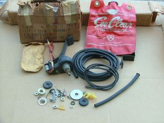 1957 60 Ford truck electric windshield washer kit, NOS pick up