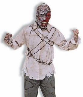scary haunted house escaped prisoner halloween costume more options