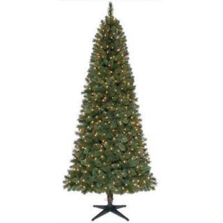 Wesley Pre Lit w/ Clear Lights Christmas Tree NEW