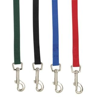 Obedience Lead Leash 15 20 30 50 Feet Long Red Black Blue Green