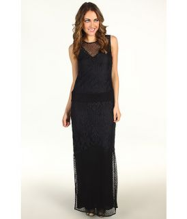 Nicole Miller Off The Shoulder Stretch Lace Dress $430.00 NEW Juicy